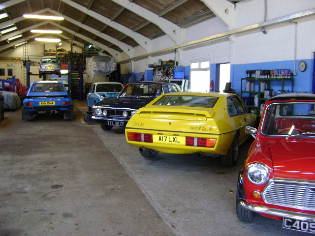 Classic Car, Performance Car and Historic Car Specialist Garage